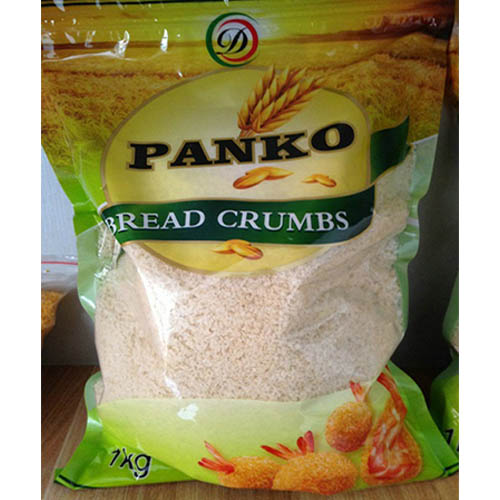White 4-6mm Japaness Style Bread Crumbs, Flavored, vacuum package