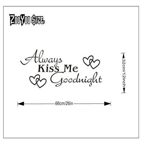 Beautiful and Personalised Self Adhesive Vinyl Wall Art Stickers for ...