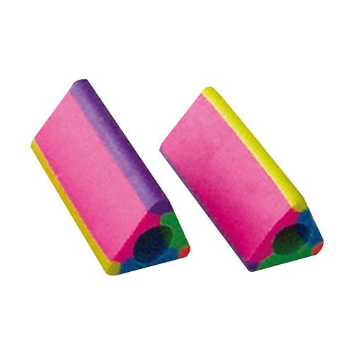soft texture pink pencil rubber eraser