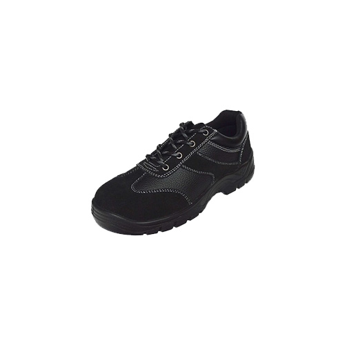 Smooth Leather Composite Industrial Toe Safety Shoes